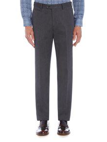 Richard James Mayfair Mens Herringbone Cotton Slim Trouser