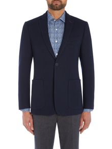 Richard James Mayfair Navy Double Faced Check Jacket