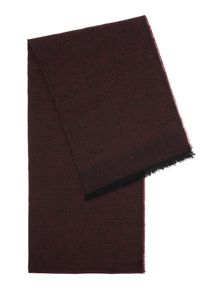 Richard James Mayfair Wool/Cotton Speckled Scarf