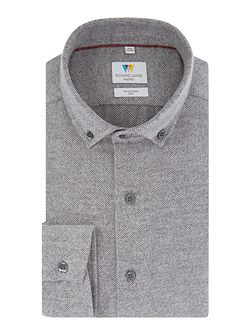 Grey Soft Textured Shirt