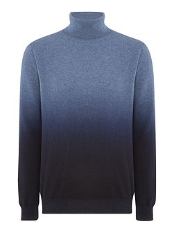 Ombre Roll Neck Knitwear