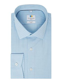 Hairline Check Slim Fit Shirt