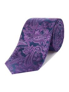 Richard James Mayfair Fine Paisley Silk Tie