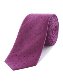 Richard James Mayfair Spot Linen Tie