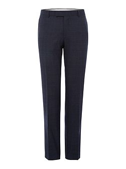 Dark Check Slim Suit Trouser