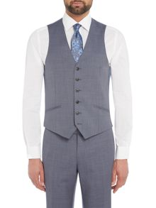 Richard James Mayfair Sharkskin Slim Waistcoat
