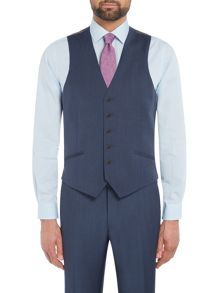 Richard James Mayfair Mohair Tonic Slim Waistcoat