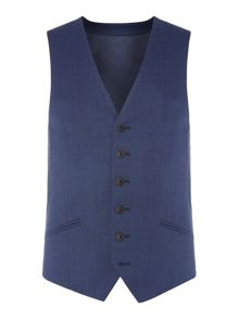 Richard James Mayfair Birdseye Slim Waistcoat