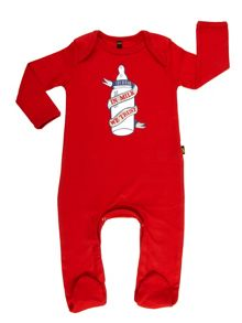 Babies in milk we trust sleepsuit