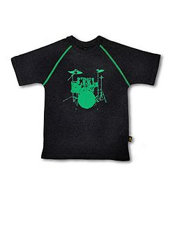 Kids drums t-shirt