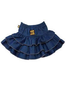 Girls Denim Rara Skirt
