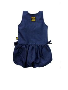 Rockabye Baby Baby Girls Denim Puffball Dress