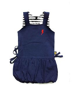 Baby Girls Denim Puffball Dress