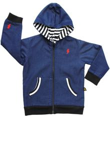 Rockabye Baby Kids Reversible Denim Jacket