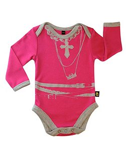 Babies Necklace Bodysuit