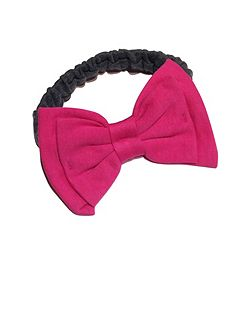 Bow hairband pink accessory