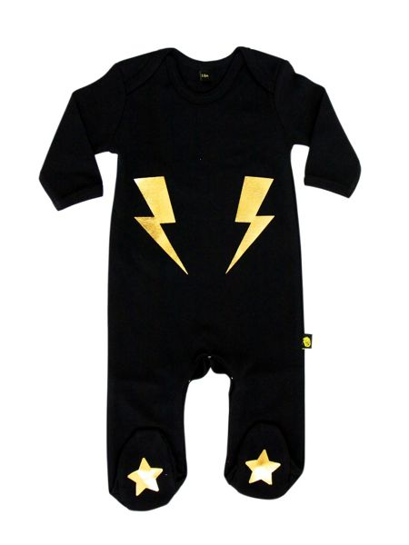 Rockabye Baby Babies Lightening Sleepsuit