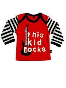 Rockabye Baby Babies This Kid Rocks Tee