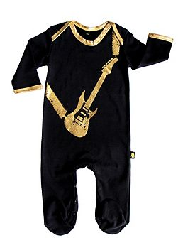 Baby Guitar Sleepsuit