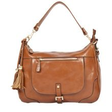 Single strap zip top saddle bag