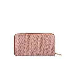 Zip round document purse