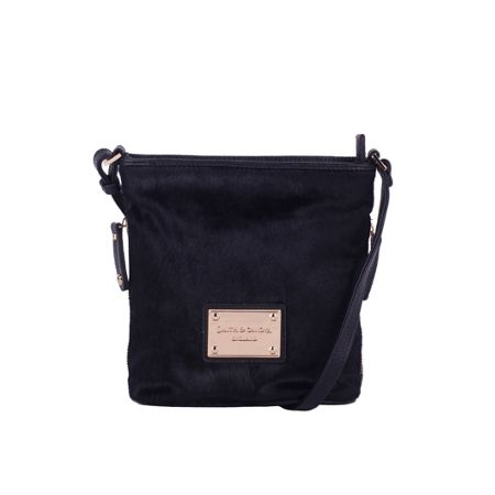Smith & Canova Small bucket style hair on cross body bag