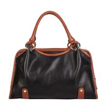 Smith & Canova Twin strap sectioned grab bag
