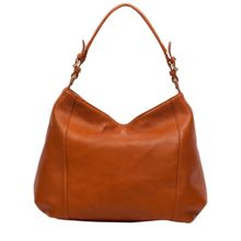 Zip top shoulder bag