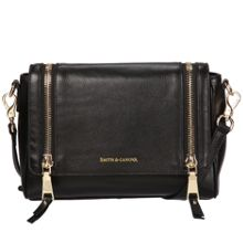 Smith & Canova Zip detail cross body bag