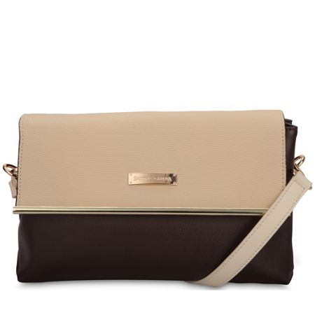 Smith & Canova Flap over cross body bag