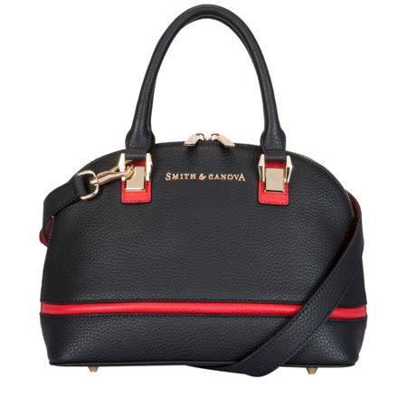 Smith & Canova Gracie twin strap mini bugatti bag