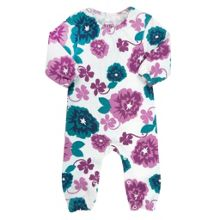 Baby girls country floral romper