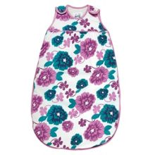 Baby girls country floral sleeping bag