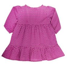 Baby girls polka dot dress