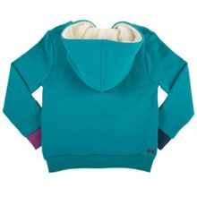 Girls fleece lined hoody