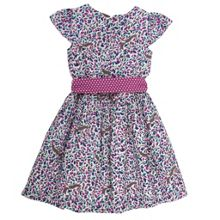 Girls squirrel print party dress