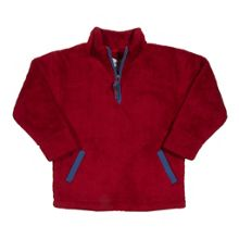 Boys zip neck fleece