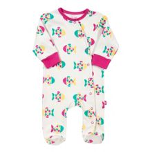Baby girls fishy sleepsuit
