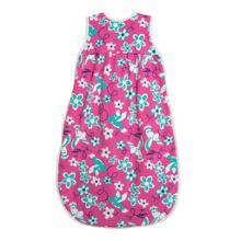 Baby girls floral bird sleeping bag
