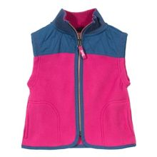 Baby girls fleece gilet