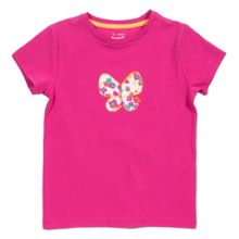 Girls butterfly t-shirt