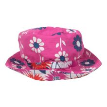 Kite Girls reversible sunflower hat