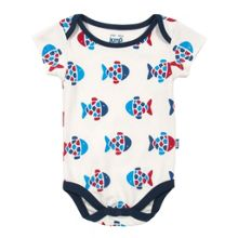 Baby boys fishy bodysuit