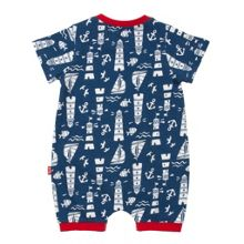 Baby boys lighthouse romper