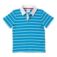 Boys stripy flag rugby shirt