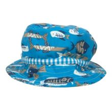 Boys reversible ocean hat