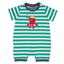 Baby boys pirate octopus romper