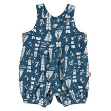 Baby boys lighthouse dungaree