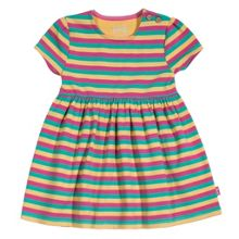 Baby girls stripy dress