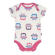 Baby Girls Owl bodysuit